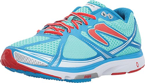 Newton Running Women's Kismet III Baby Blue/Ruby 6 B US