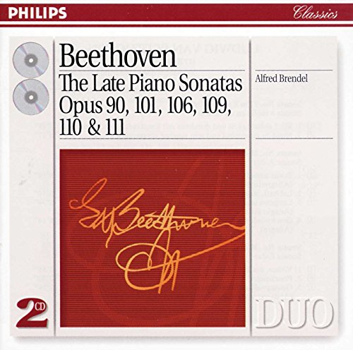 Beethoven: The Late Piano Sonatas - Opus 90, 101, 106, 109, 110 & 111 Alfred Brendel Beethoven Piano Sonatas