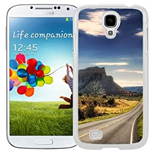 New Beautiful Custom Designed Cover Case For Samsung Galaxy S4 I9500 i337 M919 i545 r970 l720 With Quiet Road (2) Phone Case