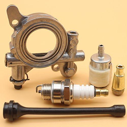 Filtro de bomba de aceite l/ínea de manguera Kit para Husqvarna 362/365/371/372/372/X P 385/390/motosierra # 503/52/13/05//501/54/41/02//503/42/67/01