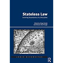 Stateless Law: Evolving Boundaries of a Discipline (Juris Diversitas)