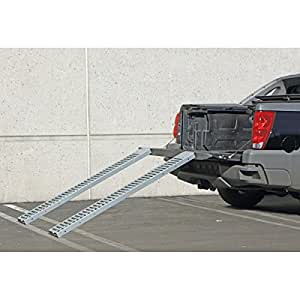 "1000 Lb Pound Steel Metal Loading Ramps 6'x9"" - Set of 2"