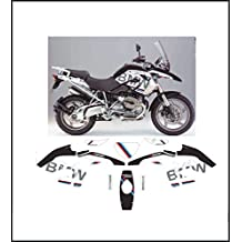 Kit adesivi decal stikers BMW R1200 GS 08 12 REPLICA MOTORRAD (ability to customize the colors)
