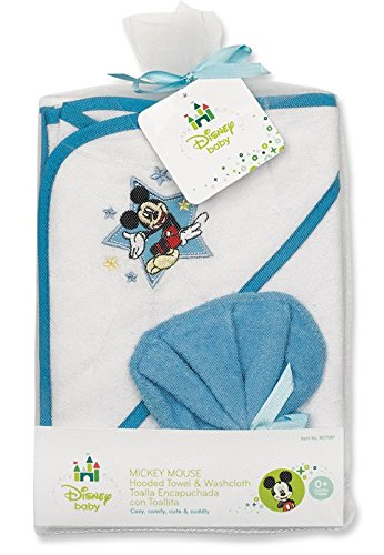 Mickey Mouse Hooded Towel Gift Set