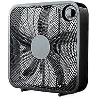 Mainstays 20 Box Fan, Black