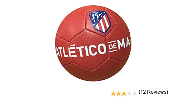 Balon Oficial Atletico de Madrid - Size 5 - Clasico Rojo: Amazon ...