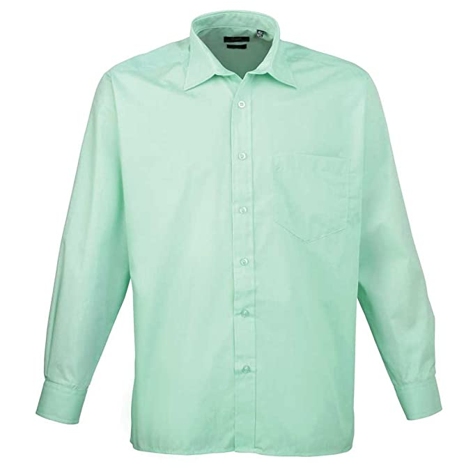 f2d946c4b Premier Workwear Poplin Long Sleeve Shirt