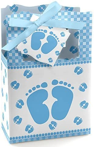 Baby Feet Blue Shower Party