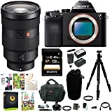 Sony Alpha a7 Mirrorless Digital Camera w/ FE 24-70mm f/2.8 GM Lens & 128GB SD Card Bundle
