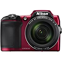 Nikon COOLPIX L840 Digital Camera with 38x Optical Zoom and Built-In Wi-Fi (Red) Advantages Review Image