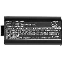 Cameron Sino 3400mAh Li-ion Battery For Logitech UE MegaBoom, S-00147, fits Logitech 533-000116