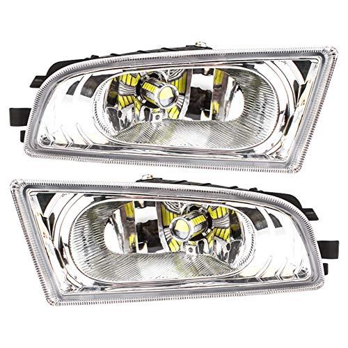 1 Pair LED Front Bumper Fog Light Lamp For HONDA Civic DBA-FD1 FD2 2006-2008 L+R ()