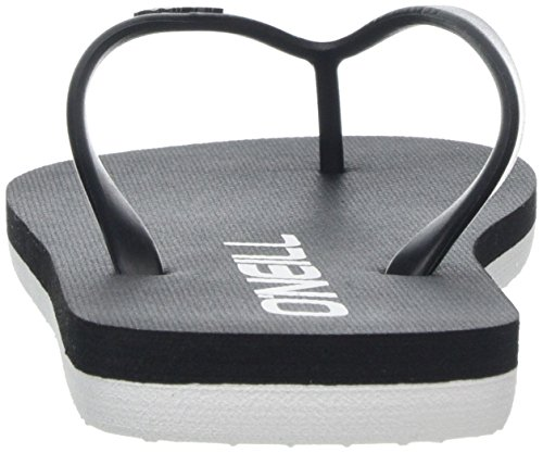 Chanclas 9010 Flip Black Schwarz Fw Out Para Mujer Solid O'neill Flops UAqPx