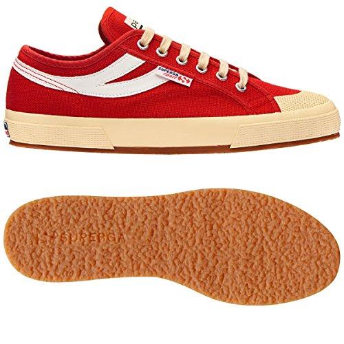 Superga - Zapatillas de gimnasia de Lona para hombre rojo rojo 40