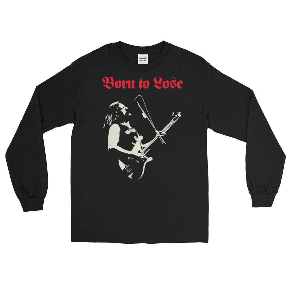 Lemmy Motorhead Born to Lose Live to Win Long Sleeve T-Shirt