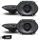 5x7 alpine type r - Alpine R-S68 Bundle - Two pairs of Alpine R-S68 6x8 / 5x7 Inch Coaxial 2-Way Speakers