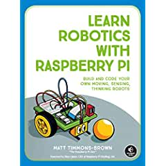 Learn Robotics with Raspberry Pi from No Starch Press