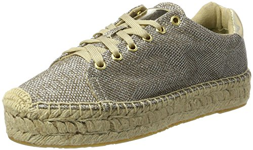 26 Winn Replay Espadrilles Femme Or Gold 1f48Xqw