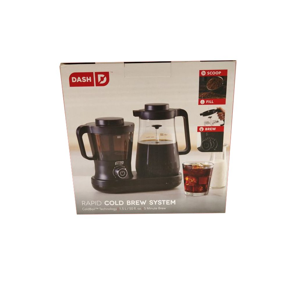 Dash DCBCM500BK Cold Brew Machine, Black by Dash