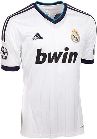 adidas Real Madrid C.F. - Camiseta de fútbol para niño, 176: Amazon.es: Deportes y aire libre
