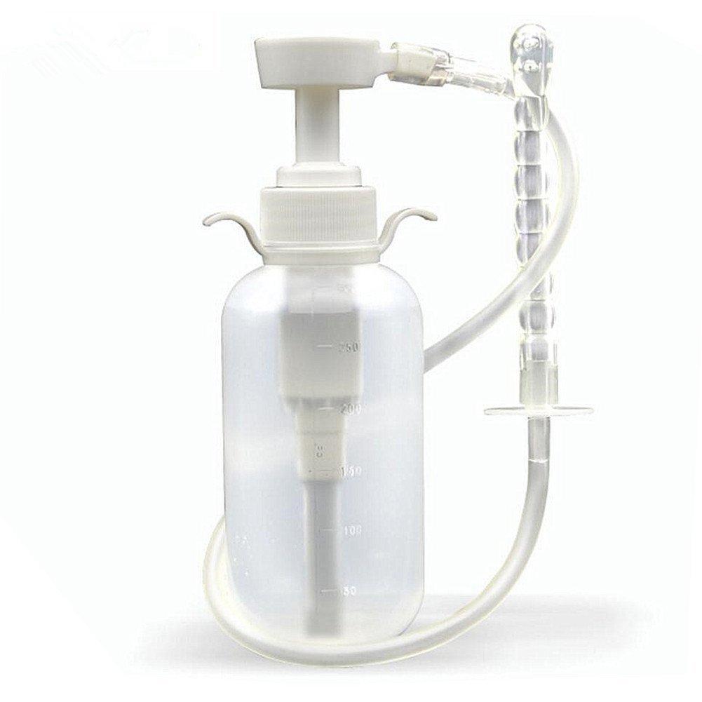 Reusable Vaginal Cleansing System-300ml Medical Grade Manual-press Type Vaginal Women Enema Pump Vaginal Douches, Capacity 3/10 Quart