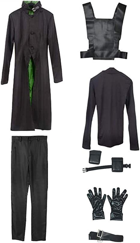 Darker than Black Hei Cosplay Costume only Jacket and gloves