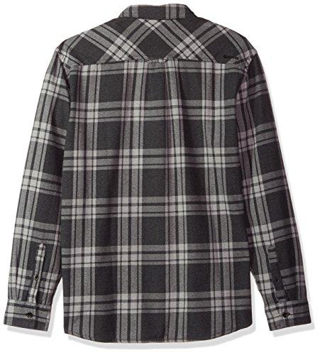 Quiksilver Waterman Men's Moon Tides Flannel Shirt