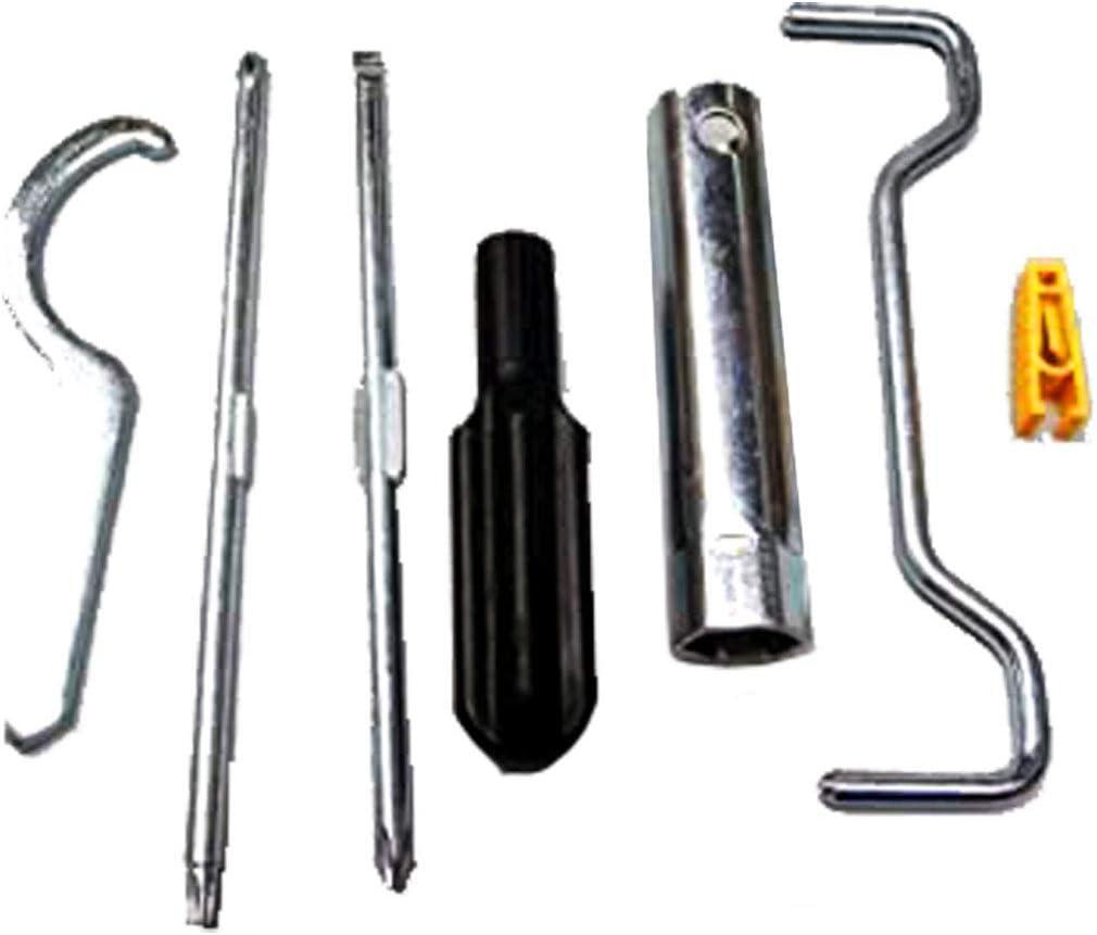 666281 Werkzeugtasche Komplett Piaggio Beverly 125 300 350 Auto