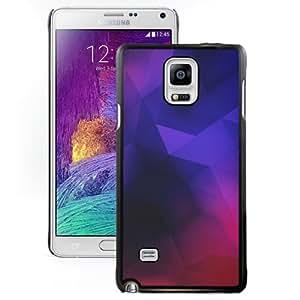Beautiful Designed Antiskid Cover Case For Samsung Galaxy Note 4 N910A N910T N910P N910V N910R4 Phone Case With Geometry Minimalistic Neon_Black Phone Case