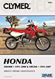 img - for clymer Honda XR600R 1991-2000 & XR650L 1993-2007 (Clymer Motorcycle Repair) by Mike Morlan (2007-08-09) book / textbook / text book