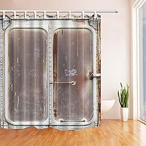 Gohebe cortinas de ducha industriales dise o de tren for Cortinas para banos rusticos