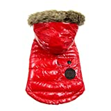 FouFou Dog Foucler Coat for Dogs, 3X-Large, Red Review