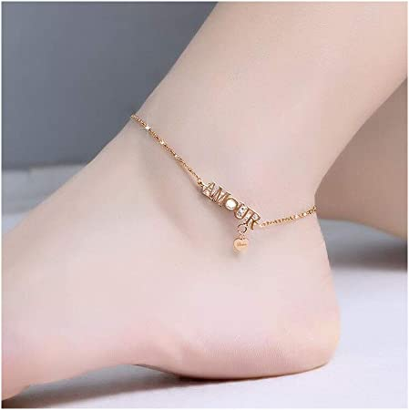 bracelet cheville titane