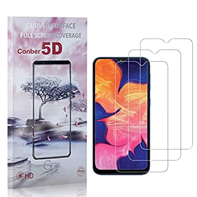 Conber (3 Pack) Screen Protector for Samsung Galaxy A20, [Anti-Shatter][Scratch-Resistant][Case Friendly] Premium Tempered Glass Screen Protector for Samsung Galaxy A20: Baby