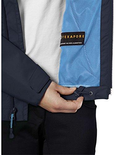Jack Wolfskin Wetterschutzjacke Arroyo Jacket Women - Cortavientos para mujer, color azul, talla L azul noche (night blue)