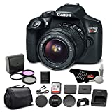 Canon EOS Rebel T6 DSLR Camera Bundle w/EF-S 18-55mm f/3.5-5.6 is II Lens with 32GB Memory Card