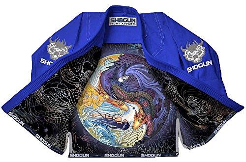 Shogun Tao Premium Jiu Jitsu (BJJ) Gi (blue, a3)