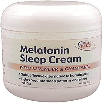 Melatonin Sleep Cream Big 4 Oz. Jar