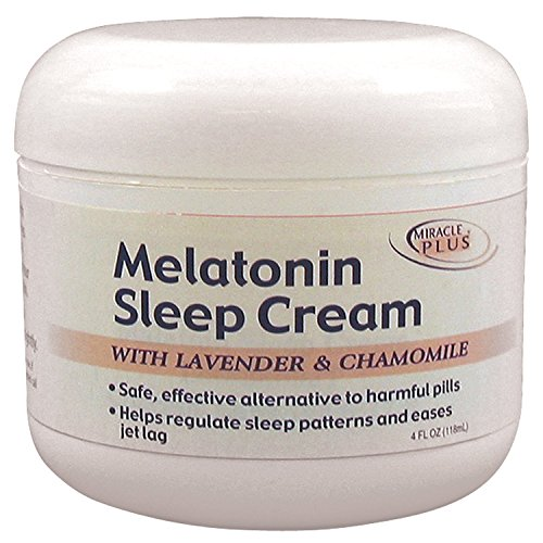 - Melatonin Sleep Cream Big 4 Oz. Jar