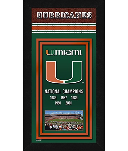 - NCAA Miami Hurricanes Sports Photo Banner, 14