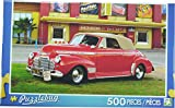 Puzzlebug ~ 1941 Red Chevy Convertible - 500 Piece Puzzle