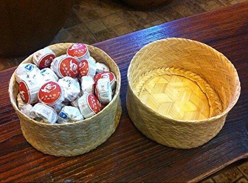 massimo dei voti totali 270 grammi in scatola di bamb/ù imballaggio Pu erh torte mini t/è fermentato Tuocha