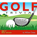 Golf Trivia 2017 Boxed/Daily Calendar