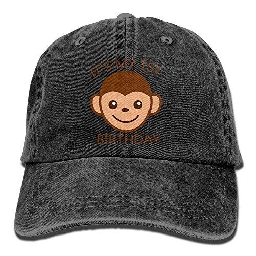 for Denim Birthday 1st Cap Skull It's Cowboy Sport My Hat Men Cowgirl Hats DEFFWB Women wXZ7IqUt