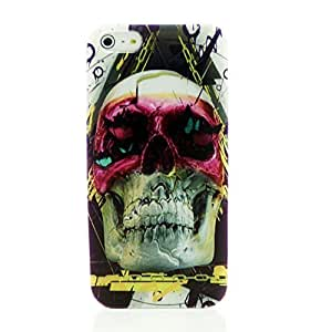Cool Punk Back Cover Case for iPhone 5 5S with Free LCD Film Cool Z hero in a mask Skull Kimberly Kurzendoerfer