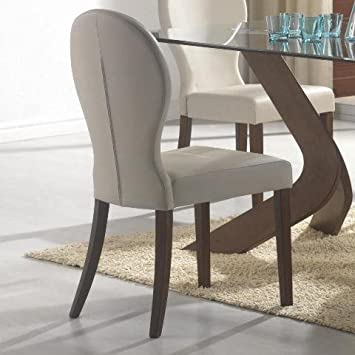 coaster dining room san vicente upholstered dining side chair set of 2