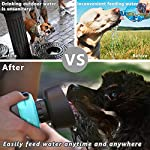lesotc Pet Water Bottle for Dogs, Dog Water Bottle Foldable, Dog Travel Water Bottle, Dog Water Dispenser, Lightweight & Convenient for Travel BPA Free 18 OZ. 13