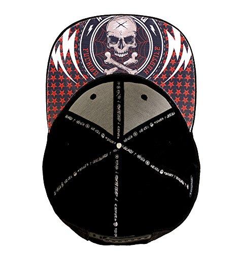 única Negro Dragstrip béisbol Talla Hombre para Clothing Gorra de Negro Twqzp