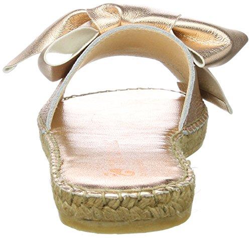 Macarena Teide Damen Metalen Espadrilles Roze (rose)