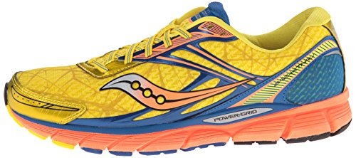 Saucony hombres Breakthru Running zapatos,amarillo/azul/Orange,12.5 M US